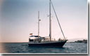Search for a motorsailer
